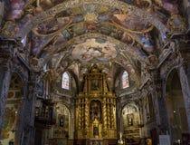 Free Valencia, Spain - July 2, 2019:  Interior Of Saint Nicholas San Nicolas Church In Valencia. Royalty Free Stock Image - 153478986