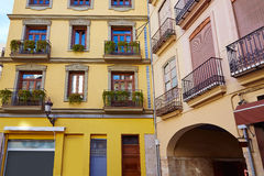 Valencia  in Spain Lope de Vega square downtown Royalty Free Stock Photography