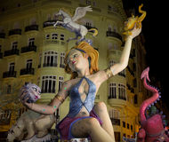 Valencia in Fallas Royalty Free Stock Image
