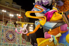 Valencia in Fallas Stock Photo