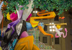 Valencia in Fallas Royalty Free Stock Images