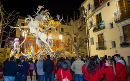 Valencia in Fallas Stock Photos