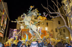 Valencia in Fallas Royalty Free Stock Photography