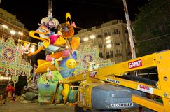 Valencia in Fallas Stock Images