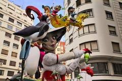 Valencia, Las Fallas festival stock photo