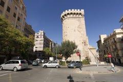 The Quart Towers fron Valencia Royalty Free Stock Photos