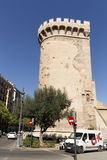 The Quart Towers fron Valencia Royalty Free Stock Photography