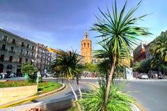 Valencia Spain | Plaza del Reina Stock Photo