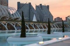 Valencia - Spanien royaltyfria foton