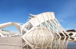 Valencia, Spanien - 4. April 2017: Stadt der Künste und der Wissenschaften, Lizenzfreies Stockfoto