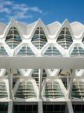 Valencia, Spanien - August 2009: Künste und Wissenschafts-Museum durch Calatrava Stockfotos