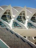 Valencia, Spanien - August 2009: Künste und Wissenschafts-Museum durch Calatrava Stockbild