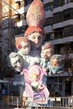 Die Störungen in Valencia, Spanien 2013 Lizenzfreie Stockfotos