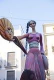 Kritiserar i Valencia, Spanien 2013 Fotografering för Bildbyråer