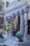 Kritiserar i Valencia, Spanien 2013 Arkivbilder