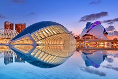 Valencia, Spanje stock foto's