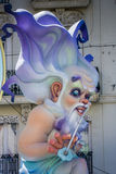 Valencia, Spanje, het Fallas-Festival Stock Afbeeldingen