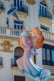 Valencia, Spanje, het Fallas-Festival Royalty-vrije Stock Afbeelding