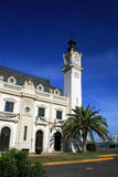Valencia, Spanje - het paleis van de Haven Royalty-vrije Stock Foto's