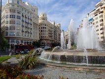 Valencia Square fotografia de stock royalty free