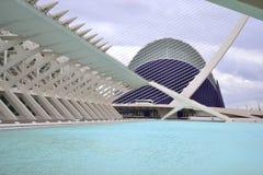 Valencia stad av konster och Sience Royaltyfri Fotografi