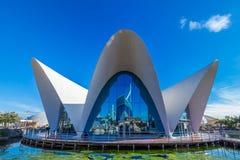 Valencia - Stad van Kunsten en Wetenschappen Royalty-vrije Stock Foto