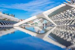 Valencia - Stad van Kunsten en Wetenschappen Stock Foto
