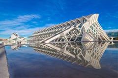 Valencia - Stad van Kunsten en Wetenschappen Stock Foto's
