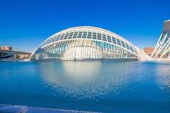 Valencia - Stad van Kunsten en Wetenschappen Royalty-vrije Stock Afbeeldingen