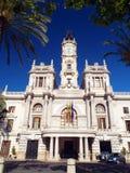 Valencia stadshus Royaltyfri Bild
