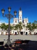 Valencia stadshus Arkivfoto
