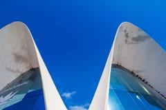 Valencia - Stadt von Künsten und von Wissenschaften Stockfoto