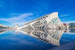 Valencia - Stadt von Künsten und von Wissenschaften Stockbild