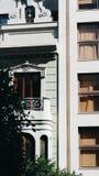Valencia, stile architettonico spagnolo ieri ed oggi Immagini Stock