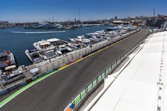 Valencia Street Circuit 2012 Royalty Free Stock Photography