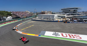 Valencia Street Circuit 2012 Stock Photos