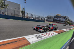 Valencia Street Circuit 2012 Stock Photo