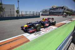Valencia Street Circuit 2012 Royalty Free Stock Photo