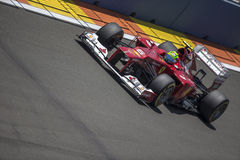 Valencia Street Circuit 2012 royalty free stock photos
