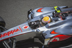 Valencia Street Circuit 2012 stock photos