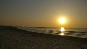 Valencia sunset Stock Photography