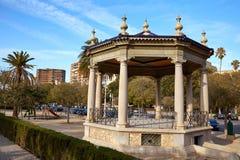 Valencia Templete Temple in Alameda park. At Spain Albereda Royalty Free Stock Photos