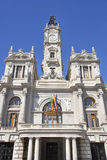Valencia Town hall Stock Photography