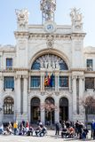Valencia Town Hall fotografia stock