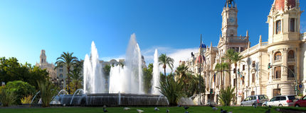Valencia Town Hall, Spain. Royalty Free Stock Photography