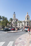 Valencia Town Hall, Spain. Royalty Free Stock Images