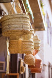 Valencia traditional esparto crafts Stock Image