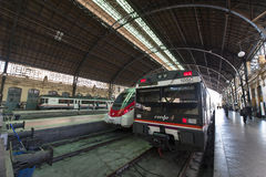 Valencia Train Station Royalty Free Stock Photography