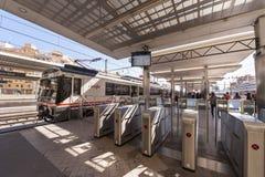 Valencia Train Station Stock Photo