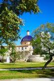 Valencia Turia river park with San Pio V museum Royalty Free Stock Photos